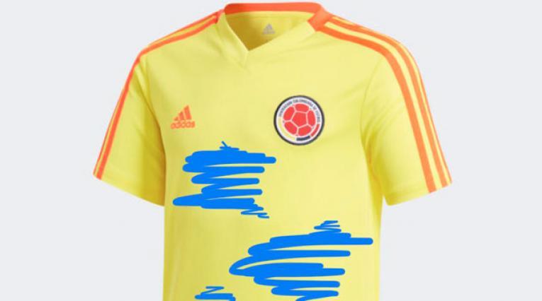 Uno de los tantos memes por la nueva camiseta de la Selección Colombia