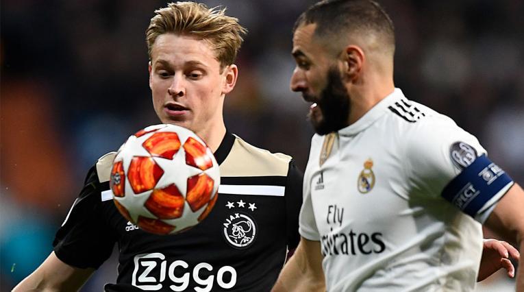 Ajax Vs. Real Madrid fue la primera llave de Champions League que tuvo la intervención del VAR.