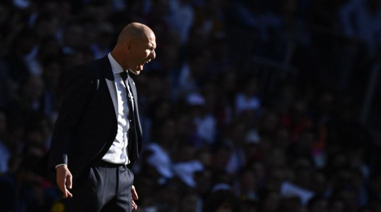 Zinedine Zidane, DT del Real Madrid