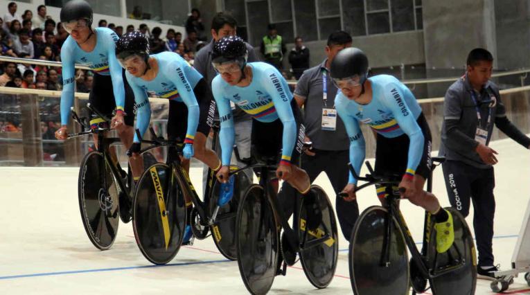Selección Colombia de ciclismo de pista
