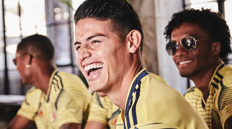 La camiseta de la Selección Colombia 2019-2020