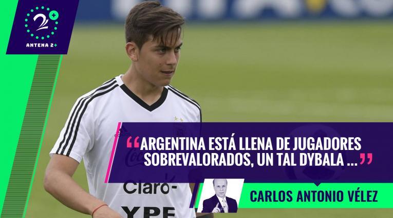 Pablo Dybala, jugador de la Selección de Argentina