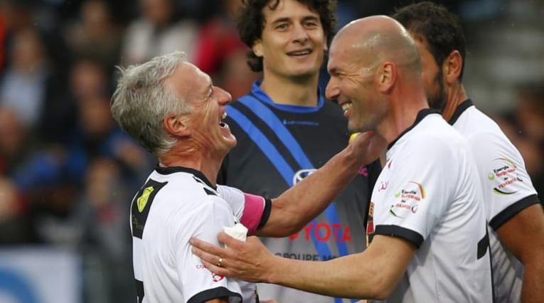 Deschamps y Zidane