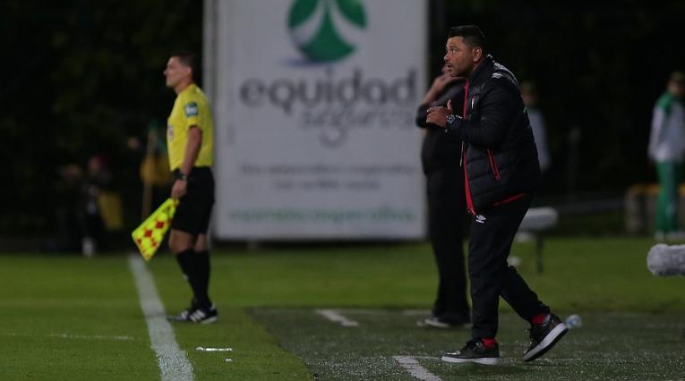 Gerardo Bedoya, técnico de Independiente Santa Fe