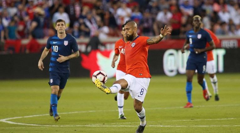 Estados Unidos vs Chile - fecha FIFA
