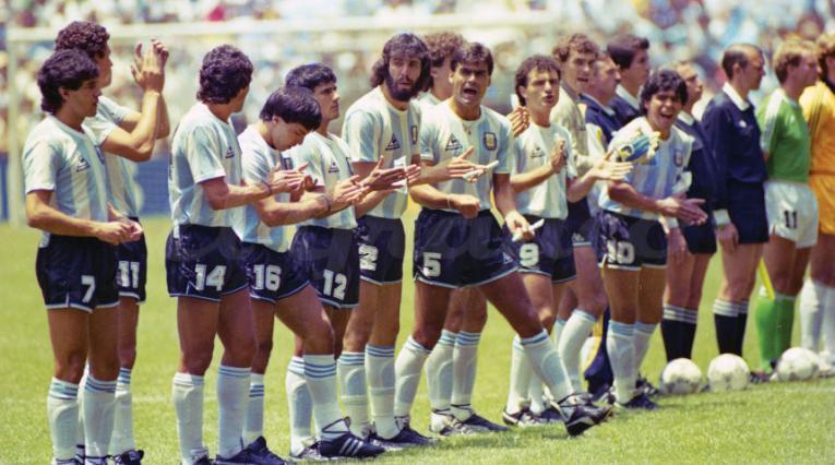 Argentina, campeón del Mundial 1986