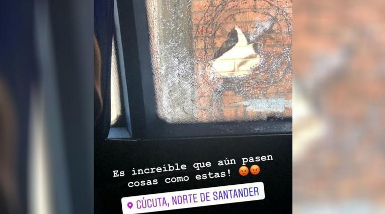 Nacional - Cúcuta, agreden bus del club verde