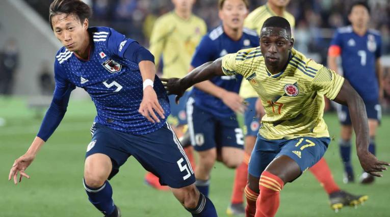Japón vs Colombia - Fecha FIFA 2019