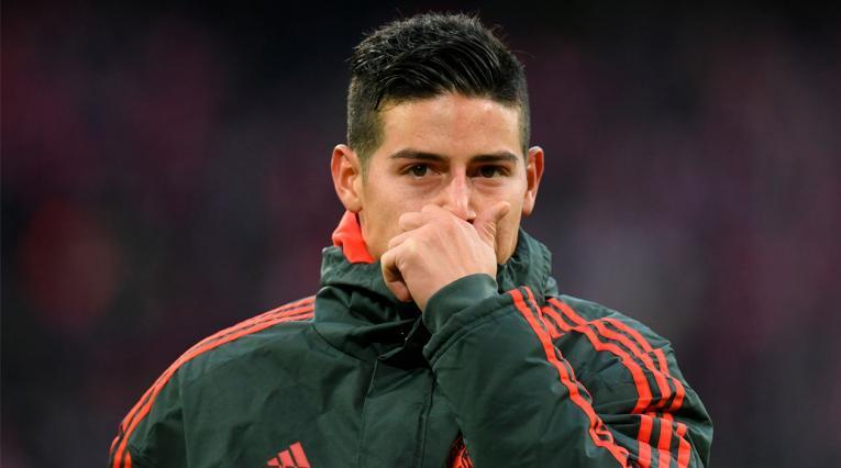 James Rodríguez tiene un futuro incierto en cuanto a continuar en el Bayern Munich