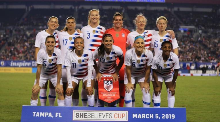 Selección femenina de Estados Unidos