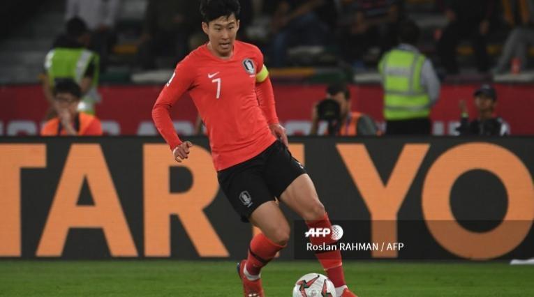 Son Heung-min, autor del primer gol que recibió Colombia en la era Queiroz