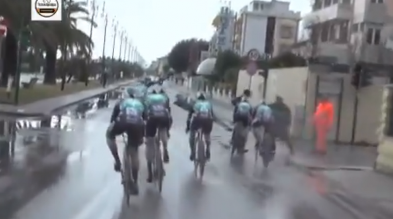 Tirreno Adriático - accidente