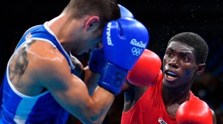 Yuberjen Martínez perdió ante un boxeador de Uzbekistan en la pelea por el oro