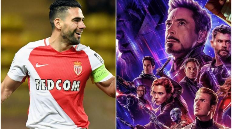 Radamel Falcao y Avengers
