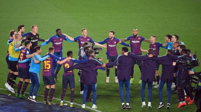 Barcelona campeón Liga Española 2018/19