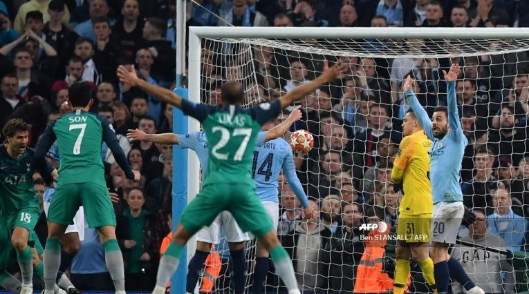 Tottenham Hotspur le había ganando 1-0 al Manchester City en el partido de ida de los cuartos de final de la Champions.