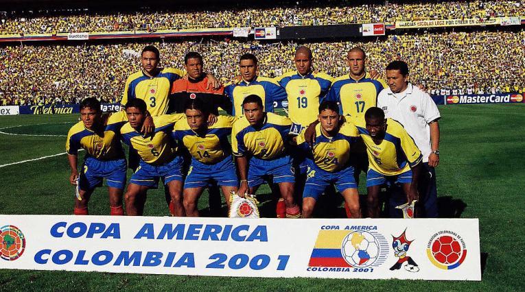 La Selección Colombia campeona de la Copa América de 2001