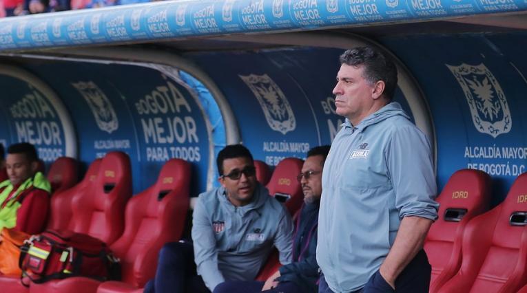 Luis Fernando Suárez, técnico del Junior de Barranquilla