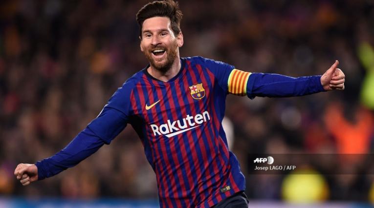 Lionel Messi comanda el ataque del Barcelona