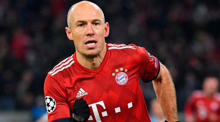 Arjen Robben, ganador de más de quince títulos con el Bayern Munich
