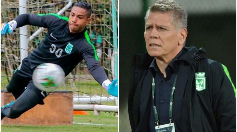José Fernando Cuadrado y Paulo Autuori