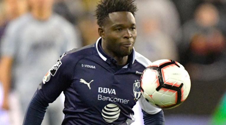 Avilés Hurtado, delantero de Monterrey, frente a Sporting Kansas City