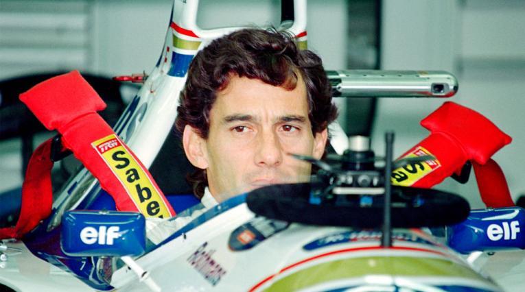 Ayrton Senna, tres veces campeón de la Fórmula 1, a 25 años de su muerte