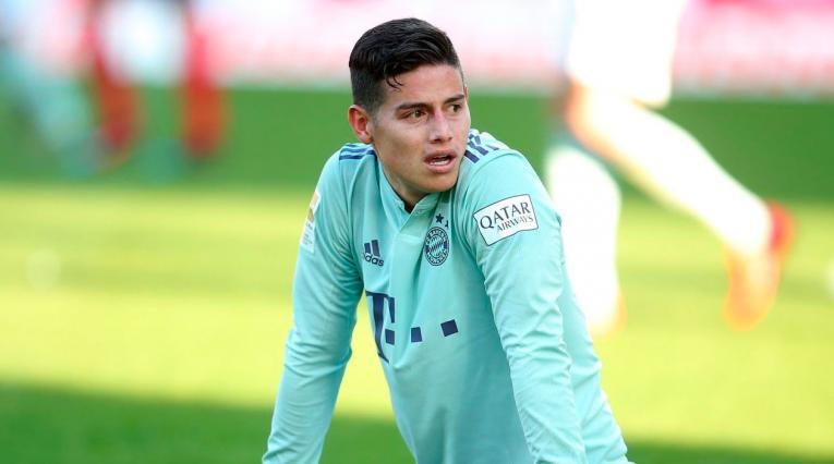James Rodríguez, a la espera de conocer su futuro en el Bayern