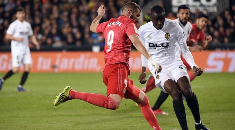 Valencia vs Real Madrid - La Liga de España