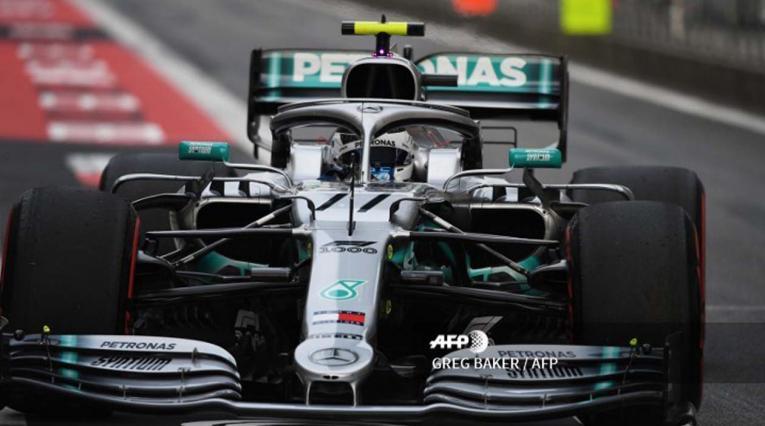 Valtteri Bottas, piloto de la escudería Mercedes