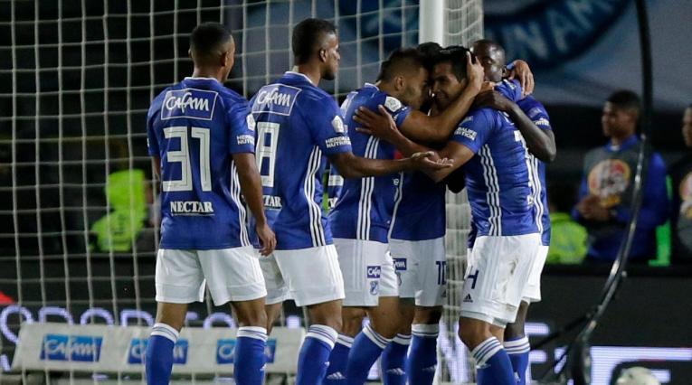 Millonarios aseguró la clasificación a octavos de la Copa Águila.