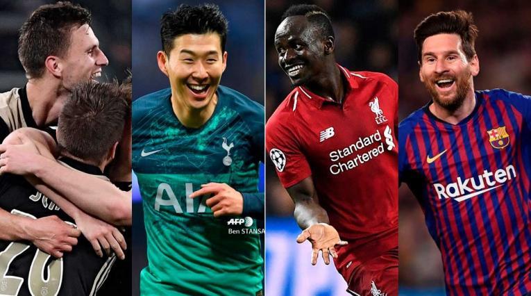Semifinalistas Champions 2019