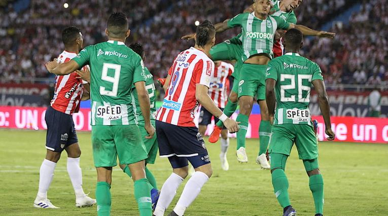 Junior vs Atlético Nacional