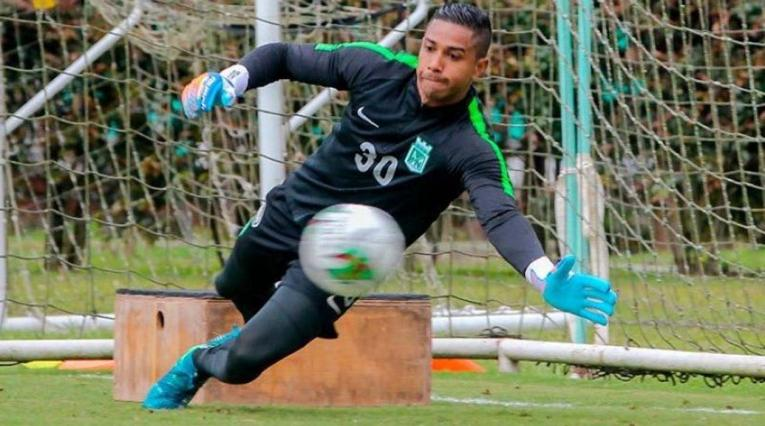 Jose Fernando Cuadrado, arquero de Atlético Nacional