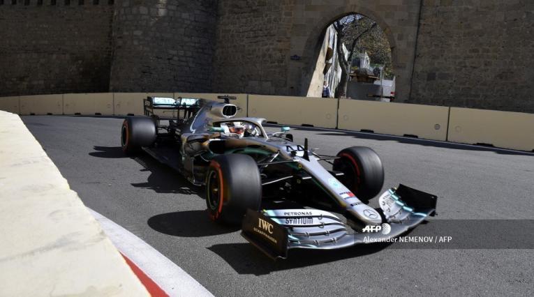 Mercedes fue el dominador en la clasificación del Gran Premio de Azerbaiyán