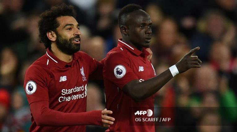Liverpool - Mohamed Salah y Sadio Mané