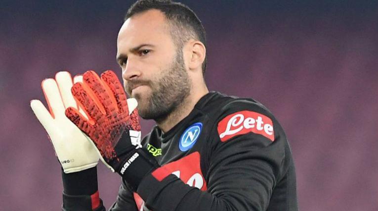 David Ospina volvió a ser titular con el Napoli en la Serie A