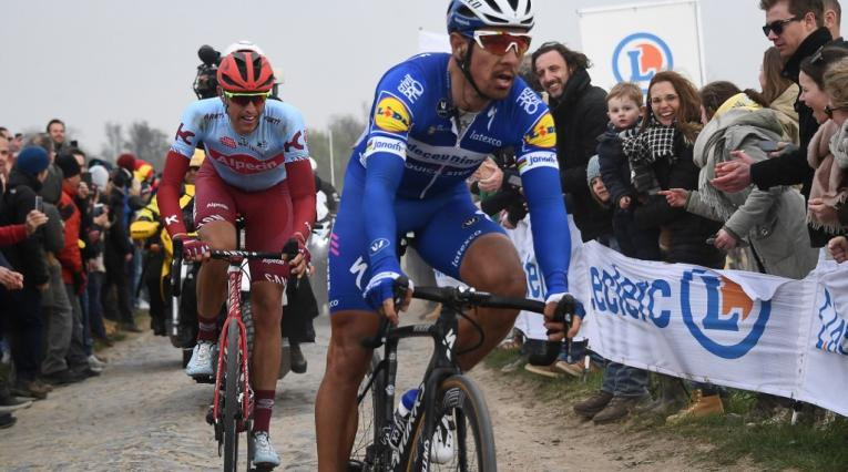 Philippe Gilbert, ciclista del Team Emirates