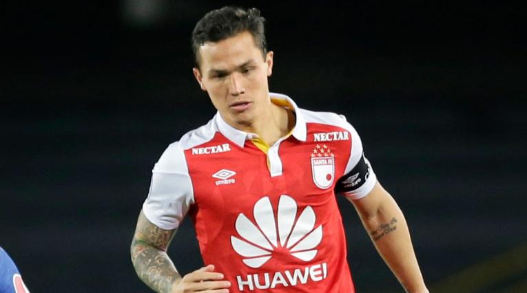 Luis Manuel Seijas, jugador y referente de Independiente Santa Fe