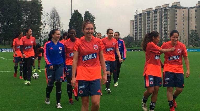 Selección Colombia Femenina se prepara con miras a los Juegos Panamericanos