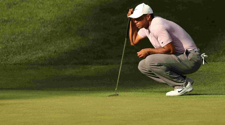 Tiger Woods en el torneo de Augusta en 2019