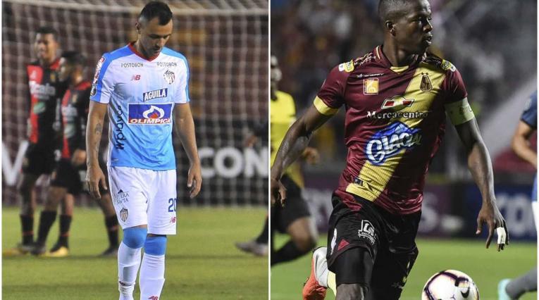 Junior y Tolima, mal presente de Colombia en la Libertadores