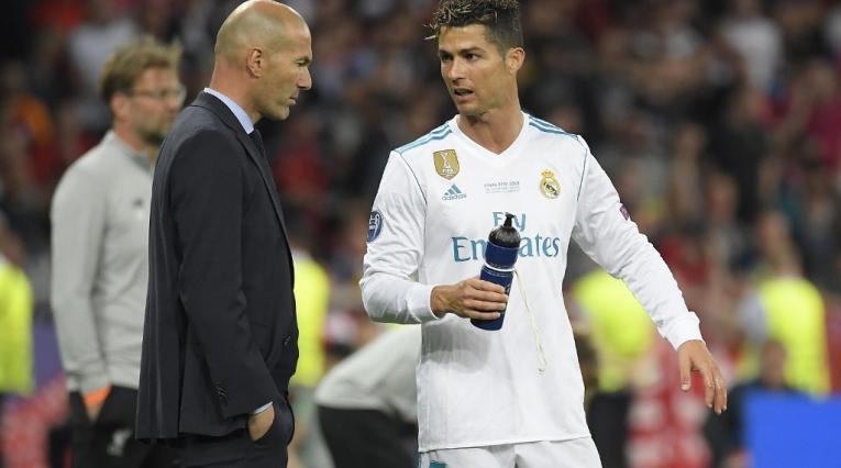 Zidane y Cristiano Ronaldo