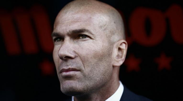 Zinedine Zidane, técnico francés