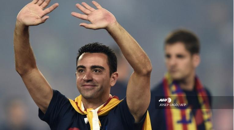 Xavi Hernández, candidato para ser el técnico del Barcelona