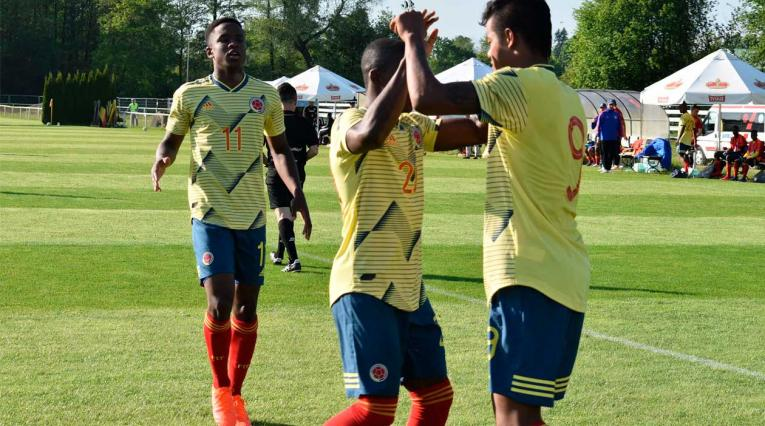 Colombia venció a Japón en el ultimo amistoso antes del mundial sub 20