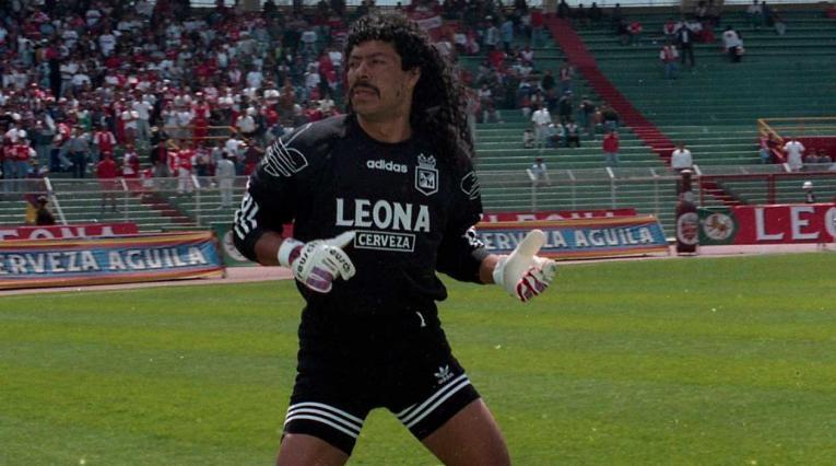 René Higuita, arquero histórico de Atlético Nacional
