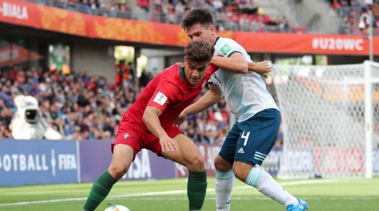 Argentina derrotó a Portugal y sella su pase a los octavos del Mundial Sub-20