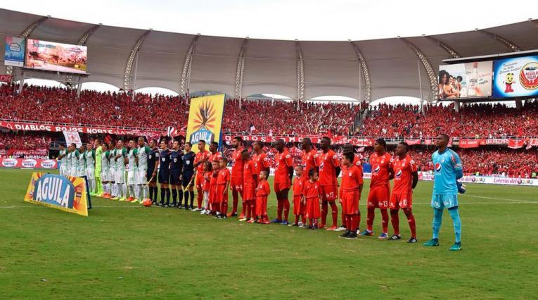 América de Cali vs Atlético Nacional en el Pascual Guerrero