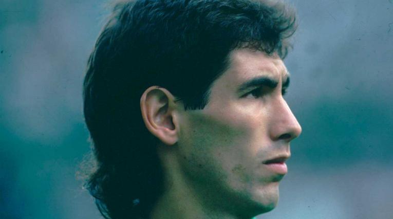Andrés Escobar, jugador que hizo parte del título de Atlético Nacional en 1989.